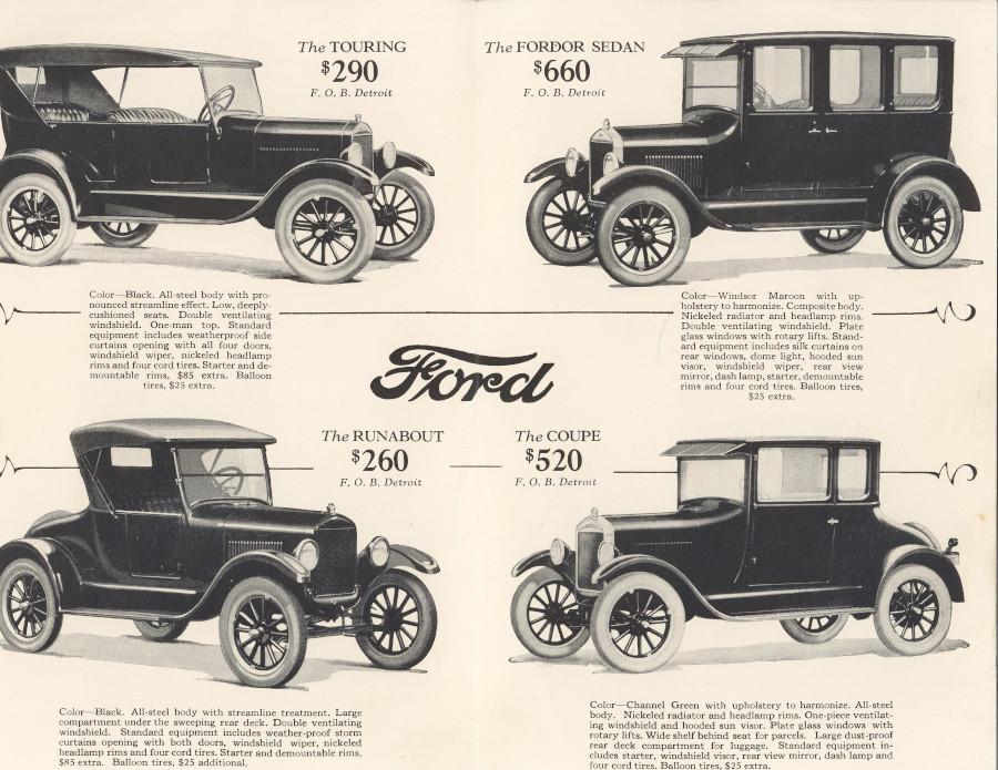 ρηξικέλευθη καινοτομία μοντελο Φορντ model T