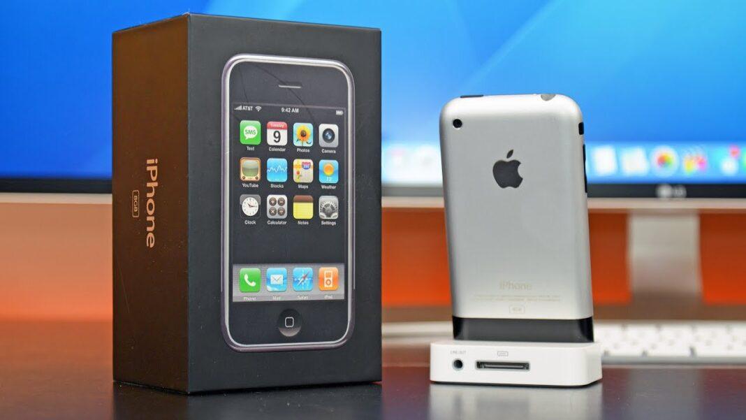 Το πρωτο iphone 2G